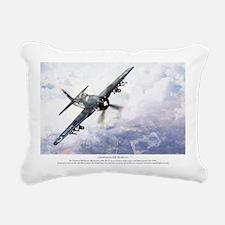 F8F Bearcat Rectangular Canvas Pillow
