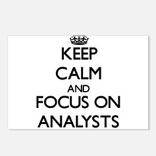 Keep Calm And Focus On Analysts Postcards (Package