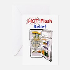 Hot Flash Relief Greeting Cards (Pk of 10)