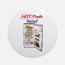Hot Flash Relief Ornament (Round)