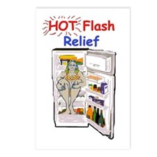 Hot Flash Relief Postcards (Package of 8)