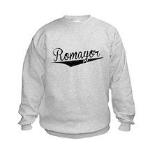 Romayor, Retro, Sweatshirt
