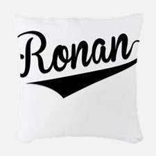 Ronan, Retro, Woven Throw Pillow