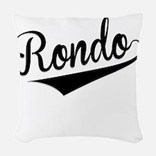 Rondo, Retro, Woven Throw Pillow