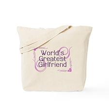 World's Greatest Girlfriend Tote Bag