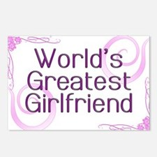 World's Greatest Girlfriend Postcards (Package of
