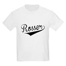 Rosser, Retro, T-Shirt