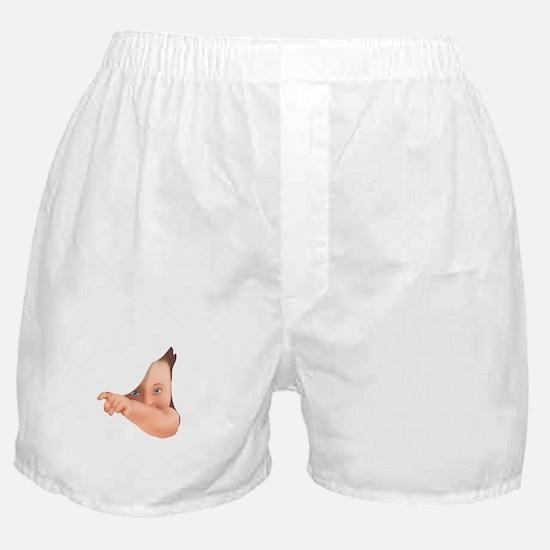 Hide Away Peek A Boo Baby 2 Boxer Shorts