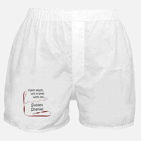 Sussex Travel Leash Boxer Shorts
