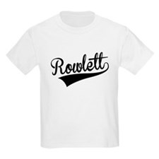 Rowlett, Retro, T-Shirt