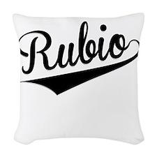 Rubio, Retro, Woven Throw Pillow