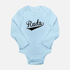Ruda, Retro, Body Suit