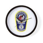 Chihuahua Police Wall Clock