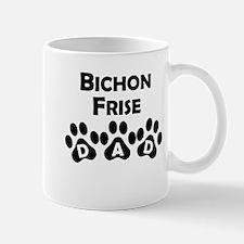 Bichon Frise Dad Mugs