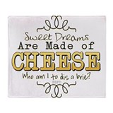 Cheese Fleece Blankets