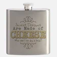 Dreams Made of Cheese Flask
