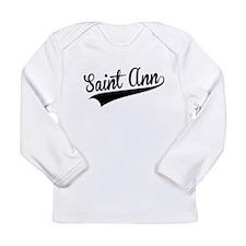 Saint Ann, Retro, Long Sleeve T-Shirt