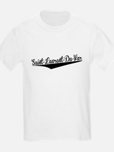 Saint-Laurent-Du-Var, Retro, T-Shirt