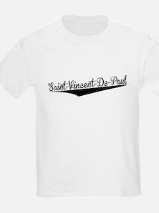 Saint-Vincent-De-Paul, Retro, T-Shirt