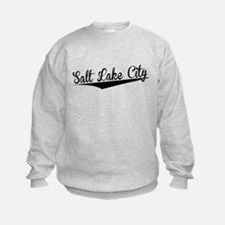 Salt Lake City, Retro, Sweatshirt