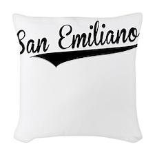 San Emiliano, Retro, Woven Throw Pillow