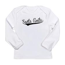 Santa Anita, Retro, Long Sleeve T-Shirt