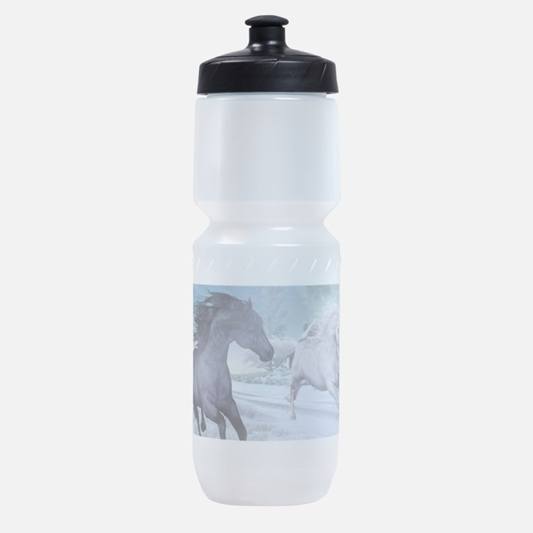 Freedom in the snow Sports Bottle