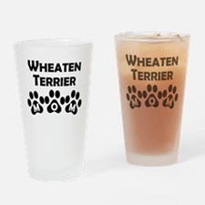 Wheaten Terrier Mom Drinking Glass
