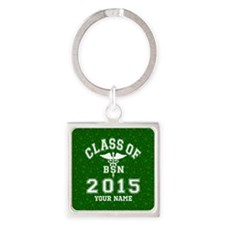 Class Of 2015 BSN Square Keychain
