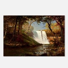 Minnehaha Falls, painting Postcards (Package of 8)
