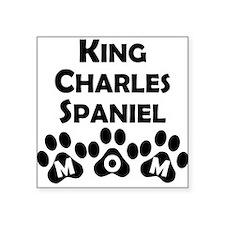 King Charles Spaniel Mom Sticker