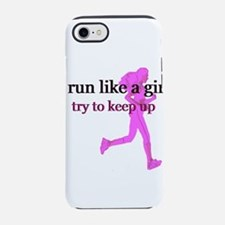 runlikegirl.png iPhone 7 Tough Case