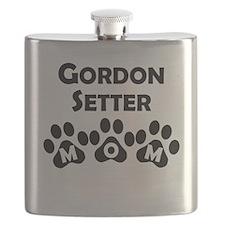 Gordon Setter Mom Flask