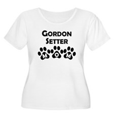 Gordon Setter Mom Plus Size T-Shirt