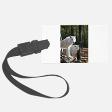 White Wolves Luggage Tag