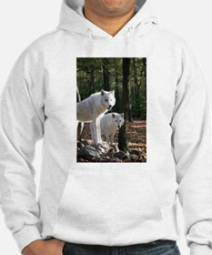White Wolves Hoodie