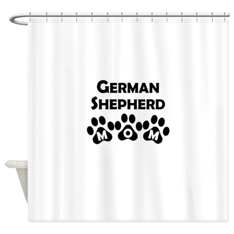 german shepherd mom shower curtain by doggieparents. Black Bedroom Furniture Sets. Home Design Ideas