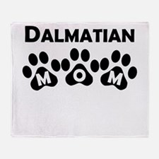 Dalmatian Mom Throw Blanket