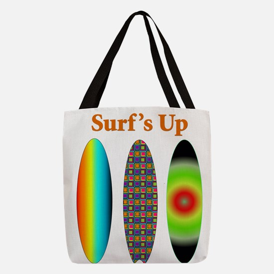 surfsup.png Polyester Tote Bag