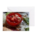 Cherry Tomato Pizza Greeting Cards (Pk of 10)