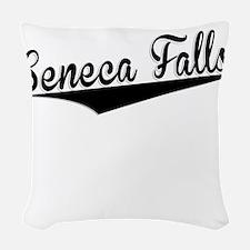 Seneca Falls, Retro, Woven Throw Pillow