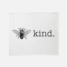Be Kind Throw Blanket
