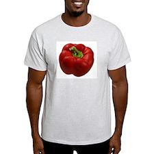 Red Pepper Ash Grey T-Shirt