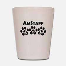 AmStaff Mom Shot Glass