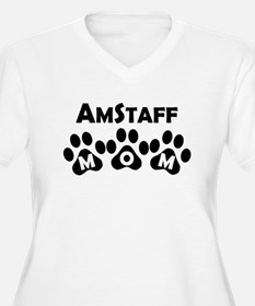 AmStaff Mom Plus Size T-Shirt