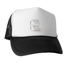 Wire Fox Travel Leash Trucker Hat