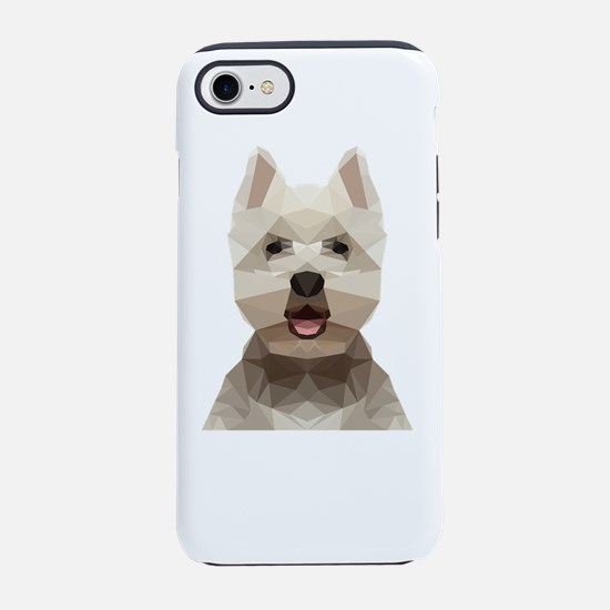 Dog (Low Poly) iPhone 7 Tough Case