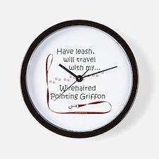WPG Travel Leash Wall Clock