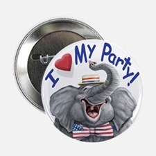 Love My Party Button