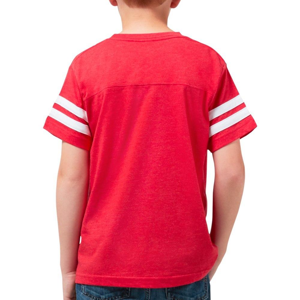 130544333 CafePress Dabbing Pig Youth Football Shirt